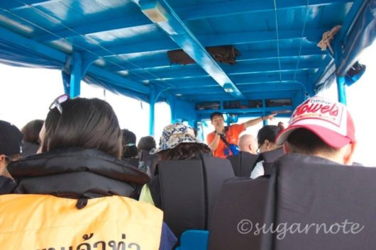 Boat to Laos on Mekong River