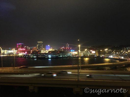 Macau Peninsula Night View, マカオ半島夜景