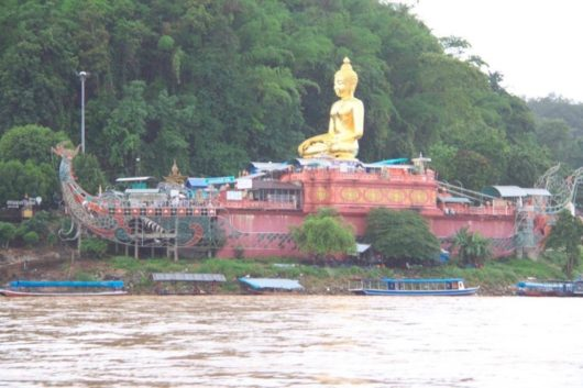 Boat Budda at The Golden Triangle