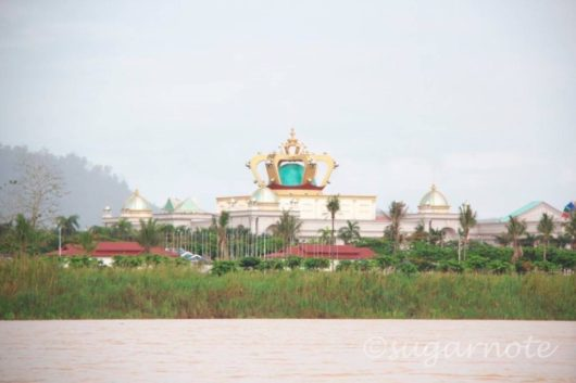 Casino, Laos on Mekong River
