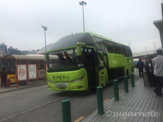 ホリデイイン・マカオ・コタイ・セントラルホテルの無料シャトルバス, Holiday Inn Macao Cotai Central Free Shuttle Bus