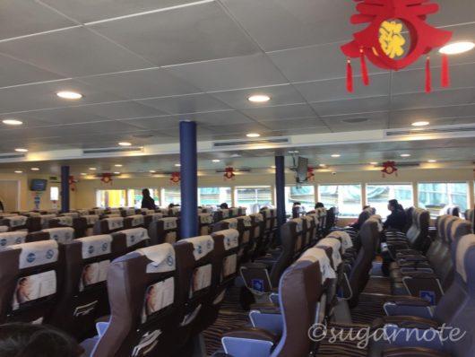 香港行きのコタイウォータージェット, Cotai Water Jet to Hong Kong