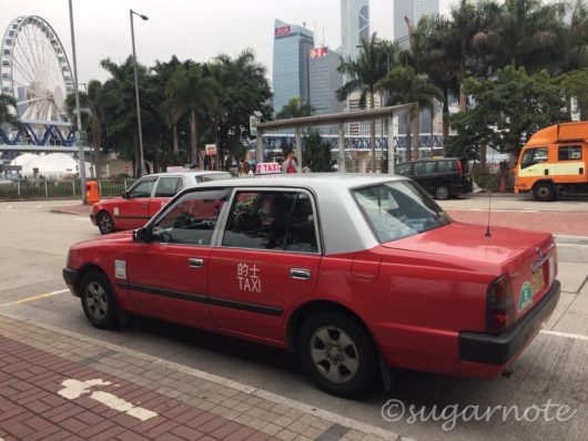 香港のタクシー, Taxi in Hong Kong
