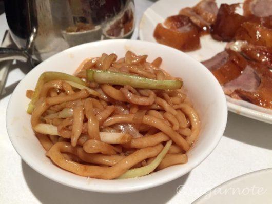 北京楼, ペキンガーデン, Peking Garden, 豚肉細切り北京風麺