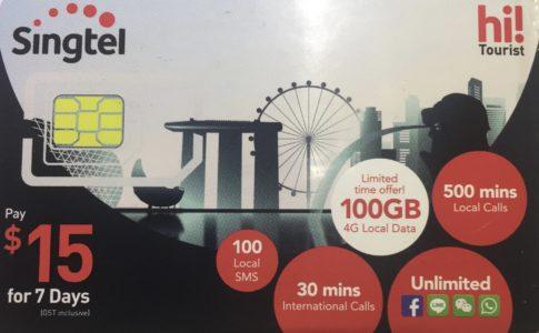 Singtel Prepaid SIM Card